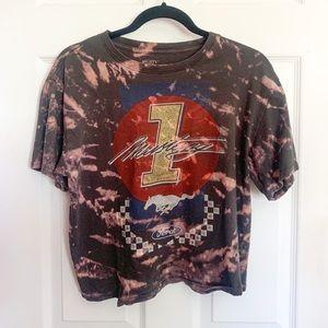 Ford Mustang bleach dye t- shirt